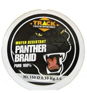 Trecciato Panther Braid RED Track Line 150mt.