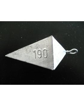 Piombo piramide idrodinamica