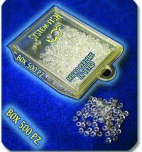 Perline Microsfere in vetro conf. 500 pz.
