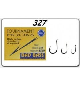 bad bass serie 327 Fishing Hooks