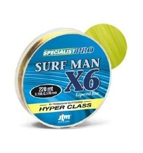 Filo conico Surfman X6 220mt -DAIWA-