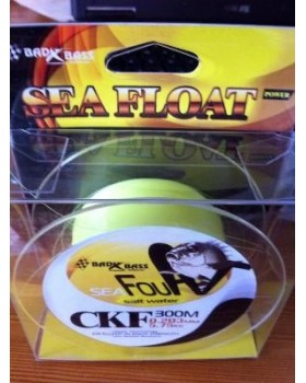 Monofilo Bad Bass nylon CKF 300mt. Yellow