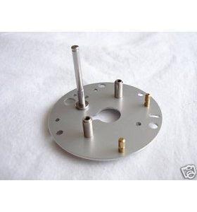 Abu Ambassadeur 5500/6500 C3 Silver Brake Plate