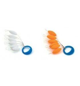 Flotterino Ovale bianco / orange  vincent