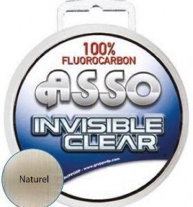 ASSO FLUOROCARBON INVISIBILE CLEAR  mt 50