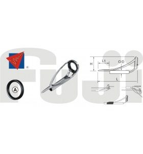 Fuji Rod Components Puntale serie MNAT