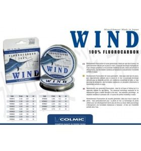 Colmic Wind Fluorocarbon 100% - 50mt
