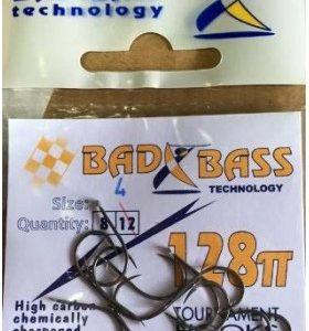 Ami bad bass serie 328TT Occhiello Fishing Hooks