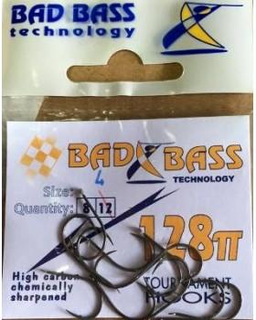Ami bad bass serie 328TT Occhiello Fishing Hooks