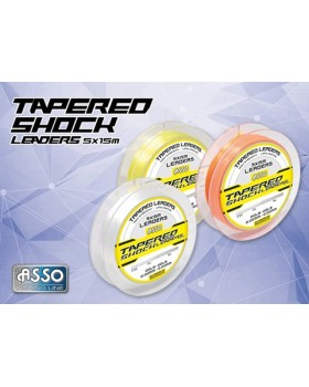 ASSO TAPERED SHOCK LEADERS 5X15