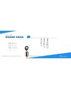 BRASS HEAD VINCENT