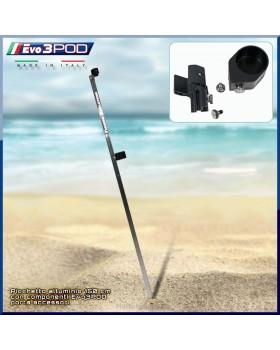 Evo3POD - Picchetto Base Alluminio 150 cm