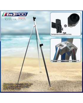 Evo3POD - Picchetto con gambe Alluminio 150 cm