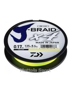 TRECCIATO PE DAIWA J-BRAID X4 135mt.