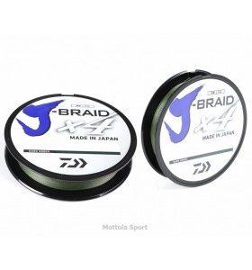 TRECCIATO PE DAIWA J-BRAID X4 270mt. D. GREEN