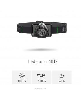 Led Lenser Lampada Mh2